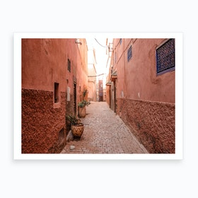Streets Of Marrakech Morocco 2 Art Print
