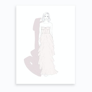 Layers Of Chiffon Art Print