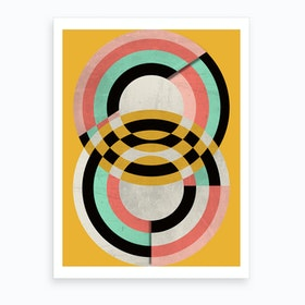 Graphic VII Art Print
