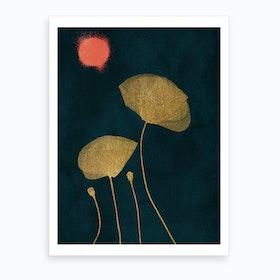 Moonshine Dancers Art Print