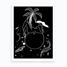Home Planet Art Print