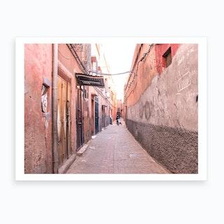 Modern Moroccan Street 2 Art Print