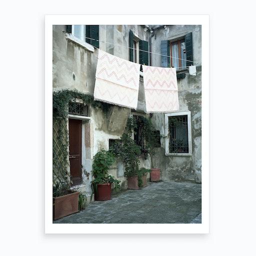 Venezia E Una Citta Verda 03 Art Print