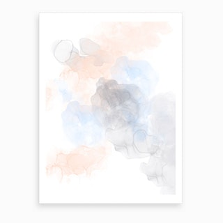 Angel Clouds  Art Print