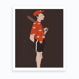 Batter Art Print