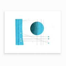 Three To One Art Print