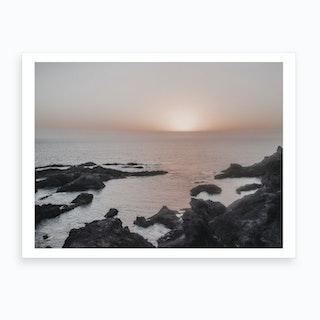 Milky Sunset I Art Print