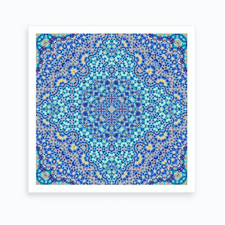 Abstract Mandala IV Art Print
