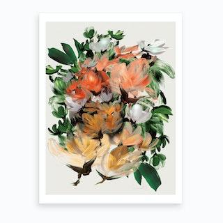 Magnolia Art Print