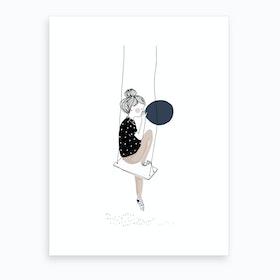 Baudruche Art Print