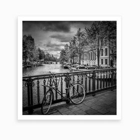 Amsterdam Emperor's Canal Square Art Print