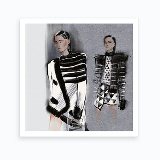 Balmain Art Print