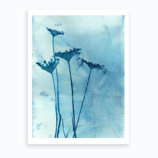 Blue Anne Art Print