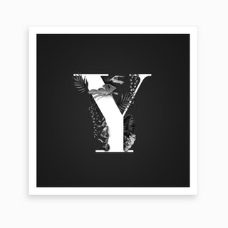 Wild   Y Square Art Print