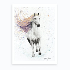 Horse Of Rhythm Art Print