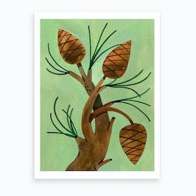Pineys Art Print