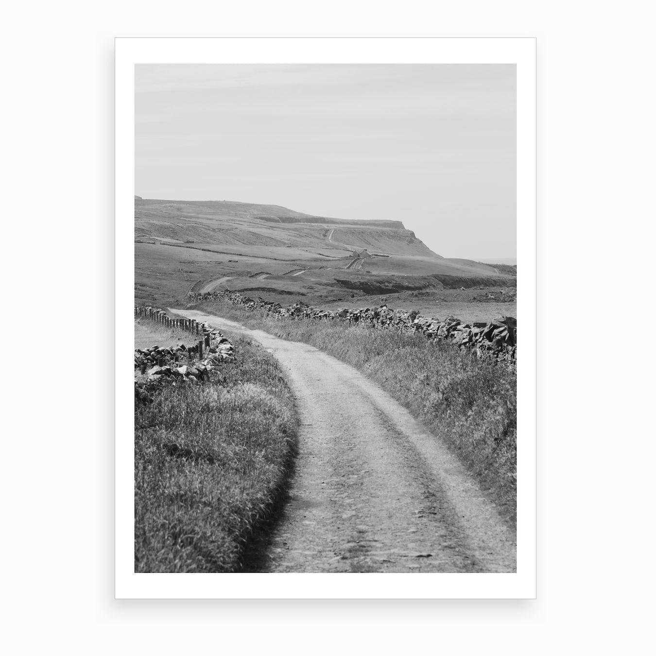 Road To The Cliffs Of Moher Art Print