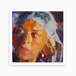 Eye Am 3 Art Print