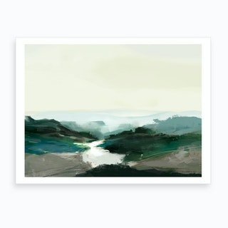 Highland View Art Print