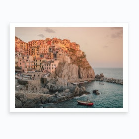 Manarola Italy Art Print