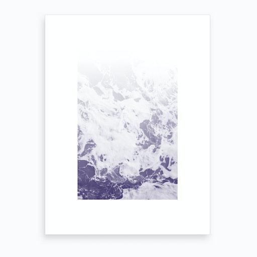 Purple Ocean Art Print