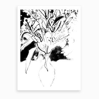 The Vase Of Dead Flowers Art Print