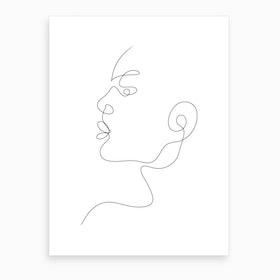 Lilian Art Print