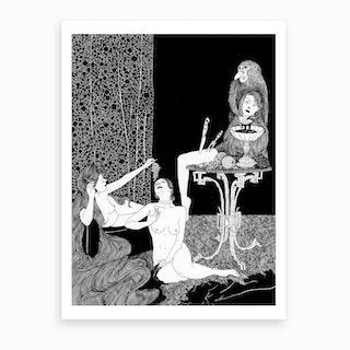 Rapunzel Series 5 Art Print