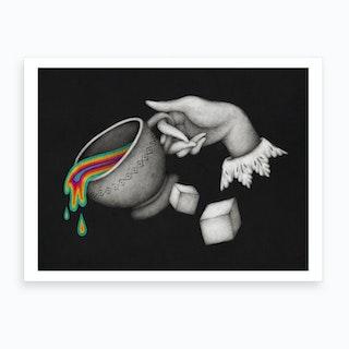 Insideout Cup Art Print
