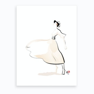 Dior Collection Art Print
