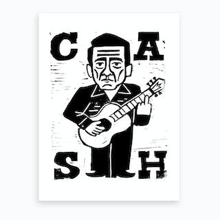 Cash Art Print