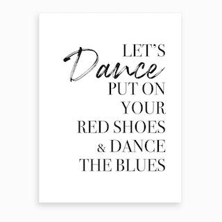 Lets Dance Art Print