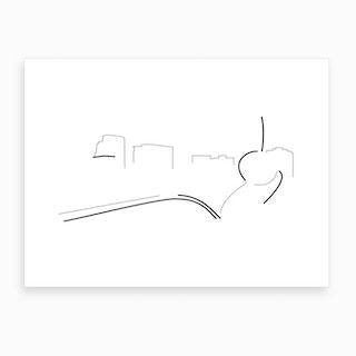 Spoon Bridge And Cherry Art Print