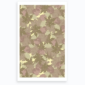 wrong Soft Fall Art Print