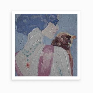 face 8 Art Print