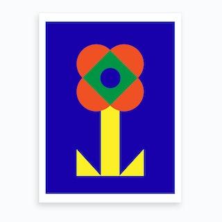 Bloomed Flower Art Print
