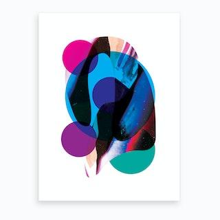 Merge Art Print