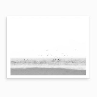 Birds On The Beach Art Print