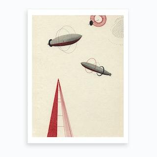 Zeppelin Ii Art Print
