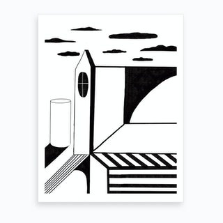 Surrreal Spaces Art Print