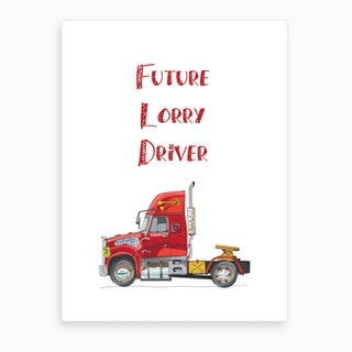 Lorry Art Print