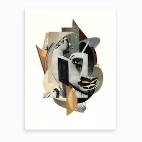 Geometric Thoughts Art Print