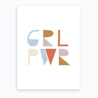Girl Power Art Print