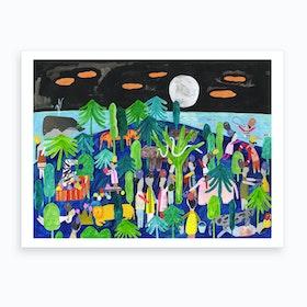 Wonderful Night Art Print