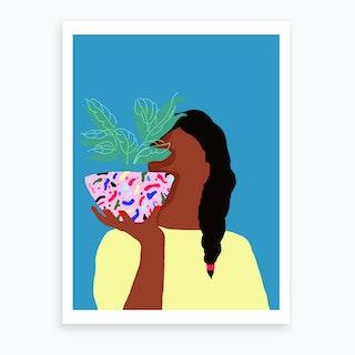Plant Fitness Art Print