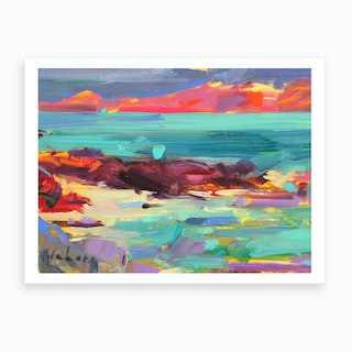 On The Shore Ion Art Print