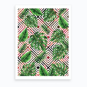 Tropical VIII Art Print