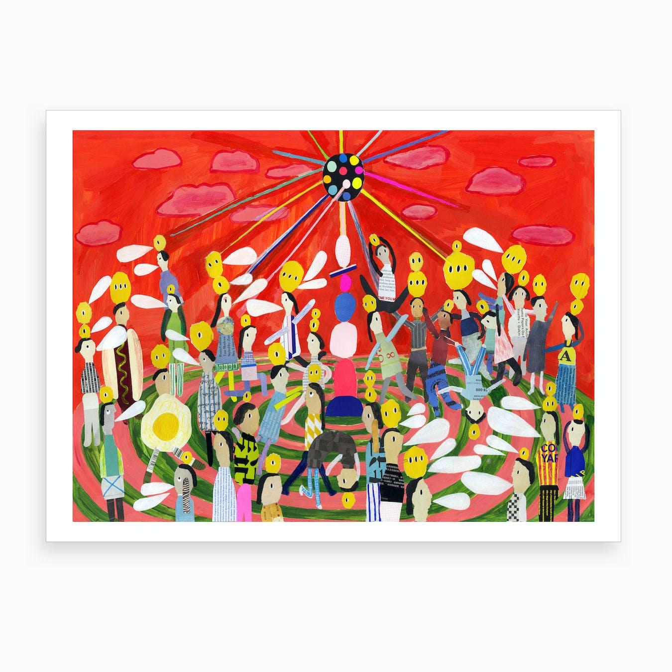 Party Time Art Print
