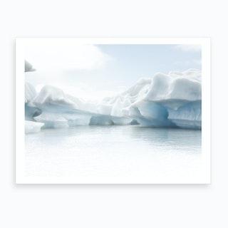 Iceberg Geometry 2 Art Print