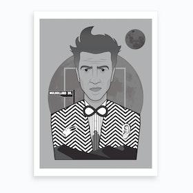 David Lynch Directors Cut Art Print